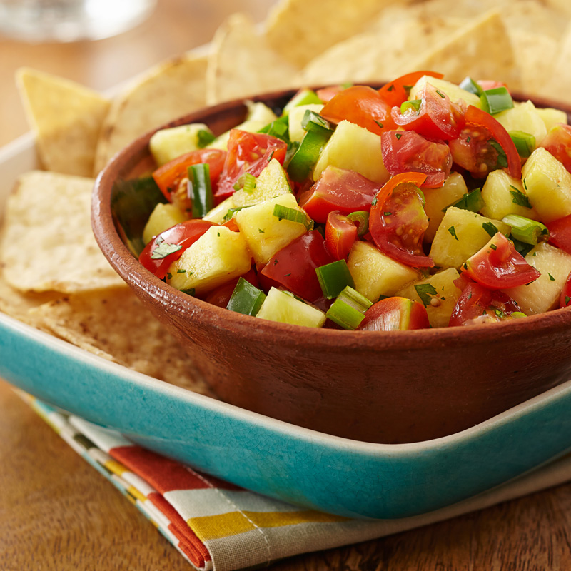 NatureSweet® Glorys® Tomato-Pineapple Salsa