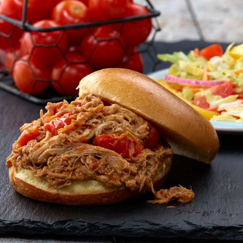 Glorys® Tomato BBQ Pulled Pork Sandwiches